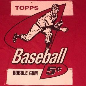 Topps - Tops Baseball Bubble Gum - Size XL